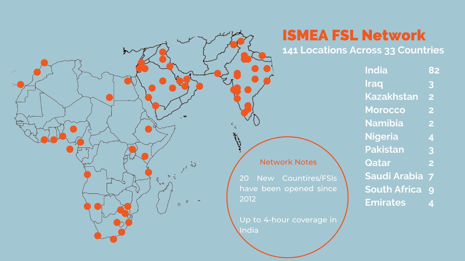 onecall global coverage - ismea